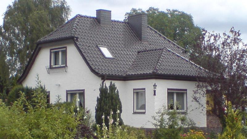 Steildächer mit Tonziegeldeckung